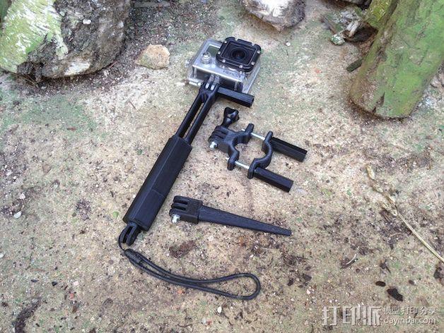 Gopro相机支撑手柄 3D模型  图12