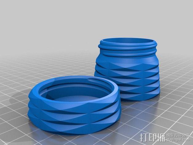 容器 盒子 镜片盒 3D模型  图3