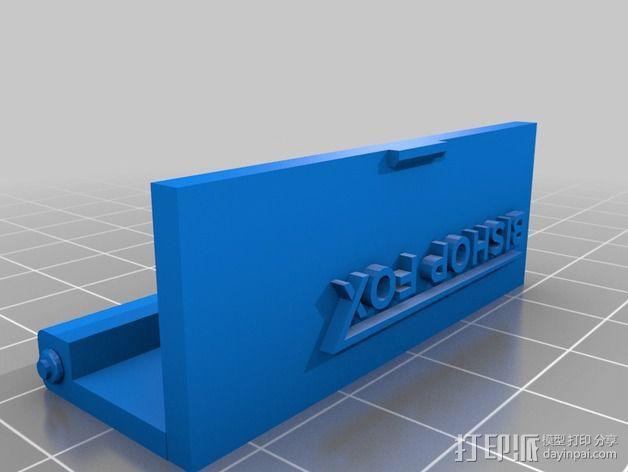 树莓派保护外壳 3D模型  图3