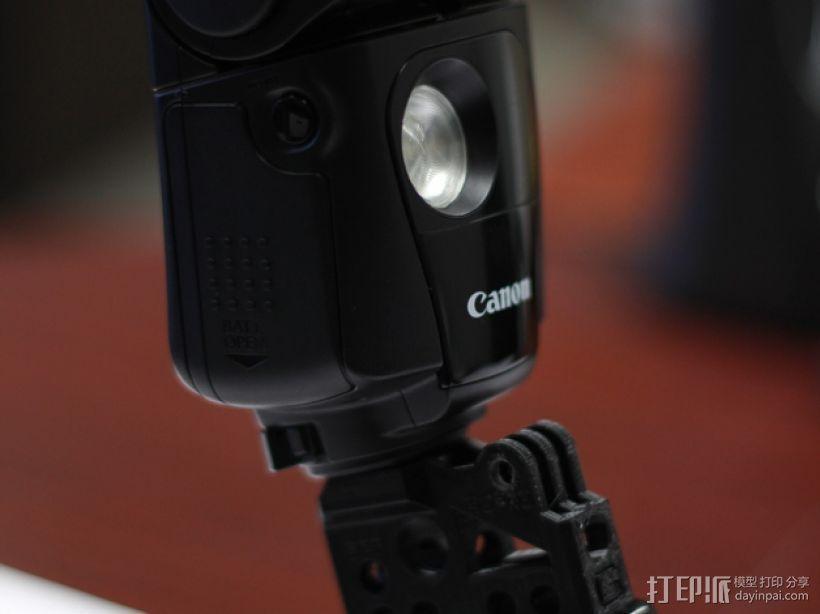 GoPro相机/反光伞连接器 3D模型  图3