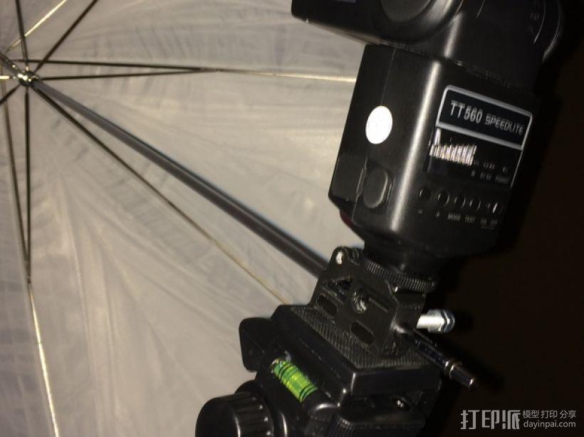 GoPro相机/反光伞连接器 3D模型  图5