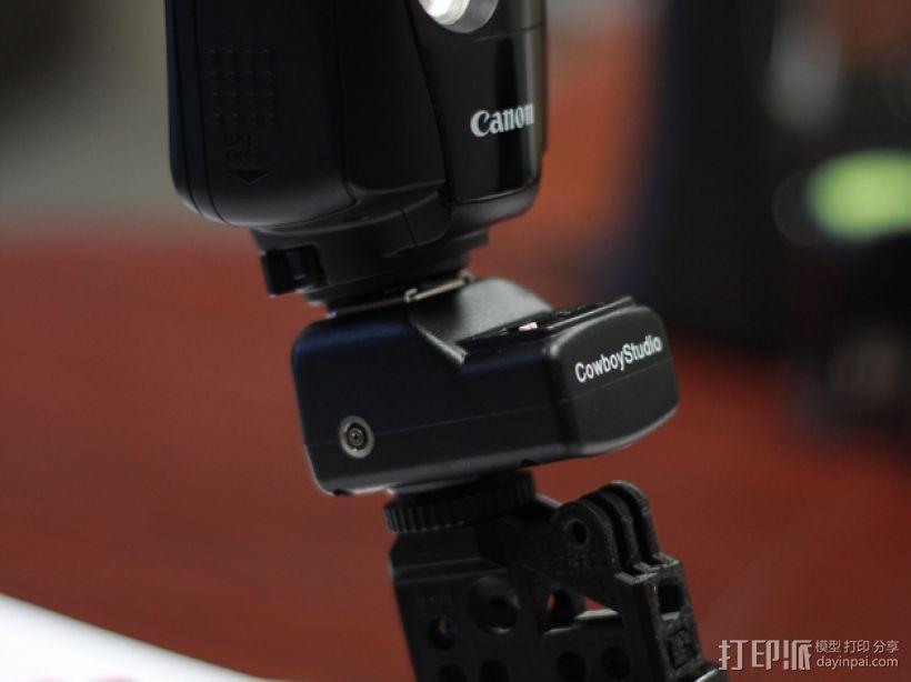 GoPro相机/反光伞连接器 3D模型  图4