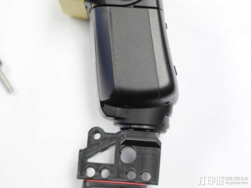 GoPro相机/反光伞连接器 3D模型  图7
