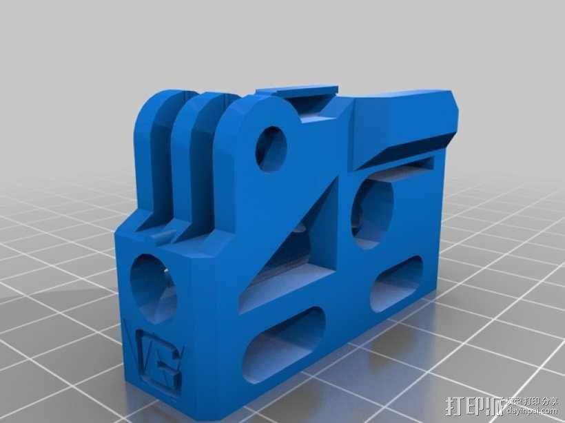 GoPro相机/反光伞连接器 3D模型  图13