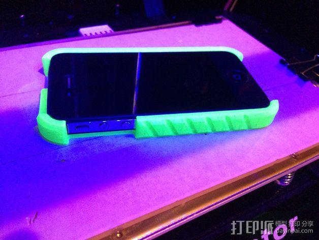 iPhone 4 手机外壳 3D模型  图2
