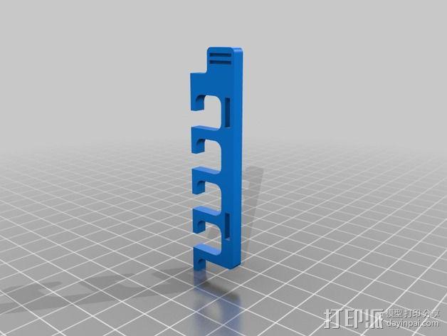 电缆收纳器 3D模型  图3