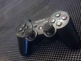 ps3游戏机手柄控制器棒 3D模型