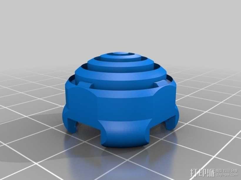 ps3游戏机手柄控制器棒 3D模型  图3