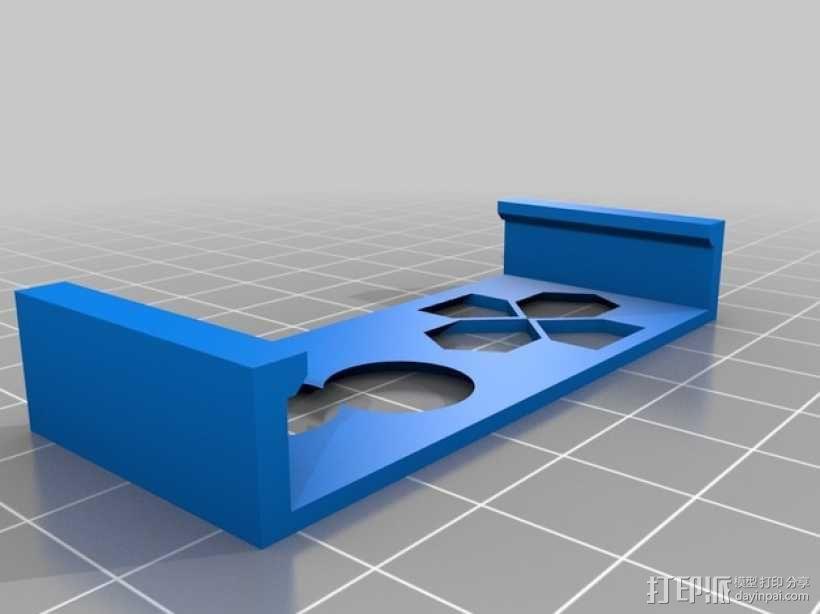 Gameboy 游戏机面板式iPhone手机壳 3D模型  图3