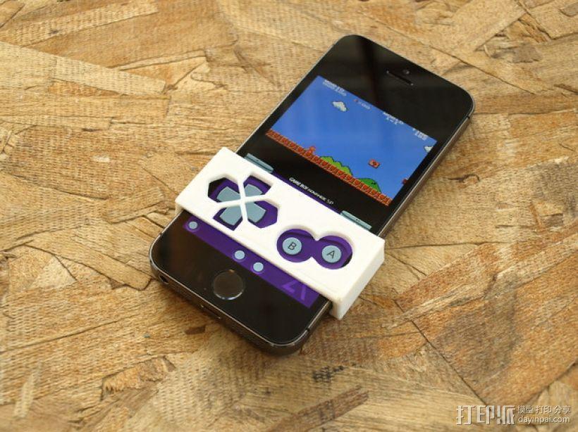 Gameboy 游戏机面板式iPhone手机壳 3D模型  图1