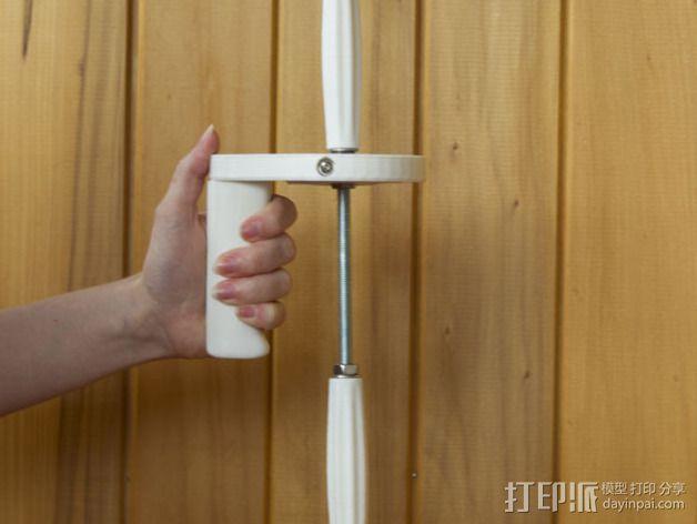 GoPro相机底座 支撑杆  3D模型  图3