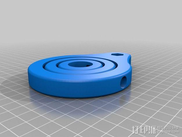 GoPro相机底座 支撑杆  3D模型  图6