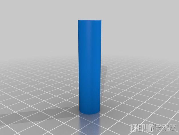 GoPro相机底座 支撑杆  3D模型  图4