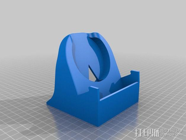 LG 手机充电座 手机架 3D模型  图2