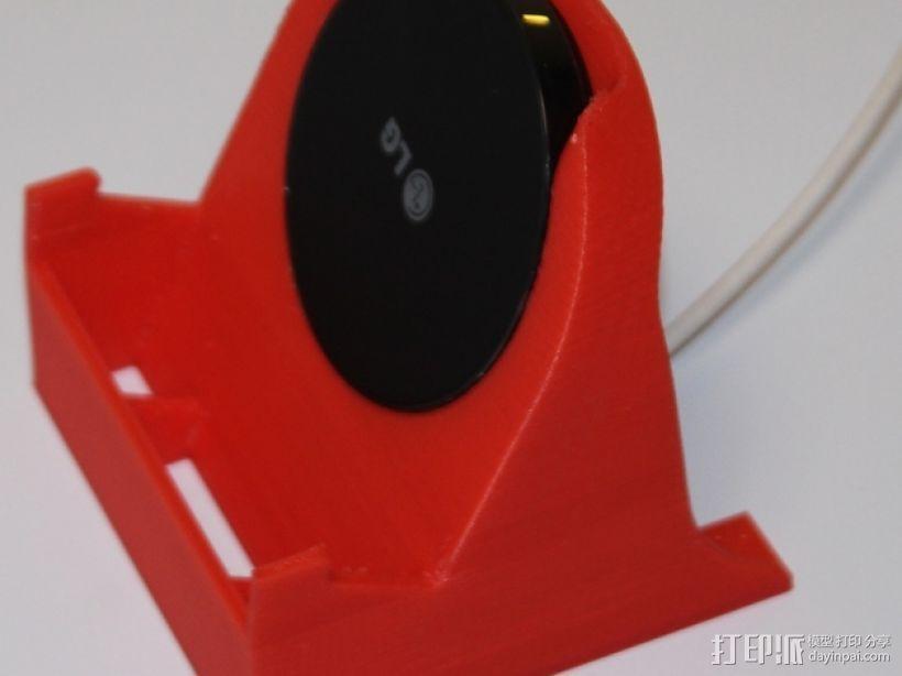 LG 手机充电座 手机架 3D模型  图1
