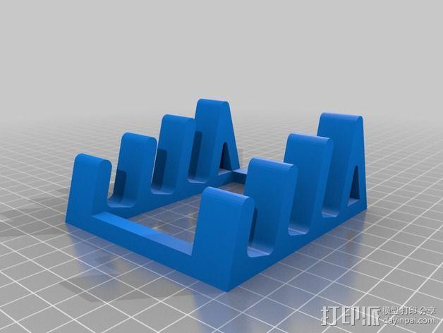 平板电脑支撑架 3D模型  图2