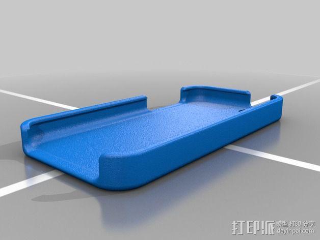 iPhone 5C手机保护壳 3D模型  图2