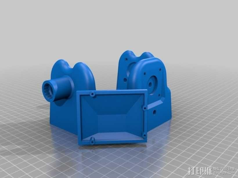 刻字机 画图机 3D模型  图7