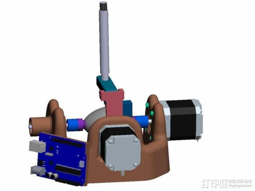 刻字机 画图机 3D模型  图8