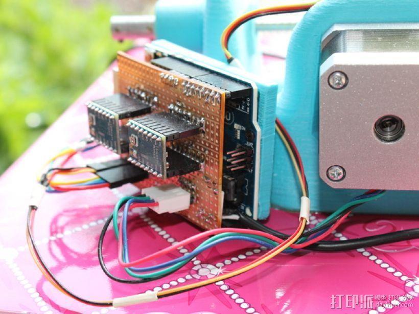 刻字机 画图机 3D模型  图14