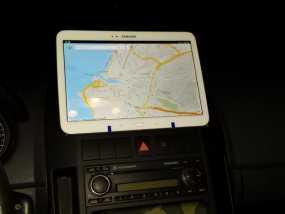 车载式三星手机支架 3D模型