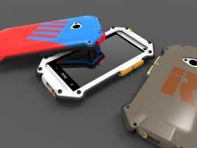 HTC ONE手机外壳 3D模型