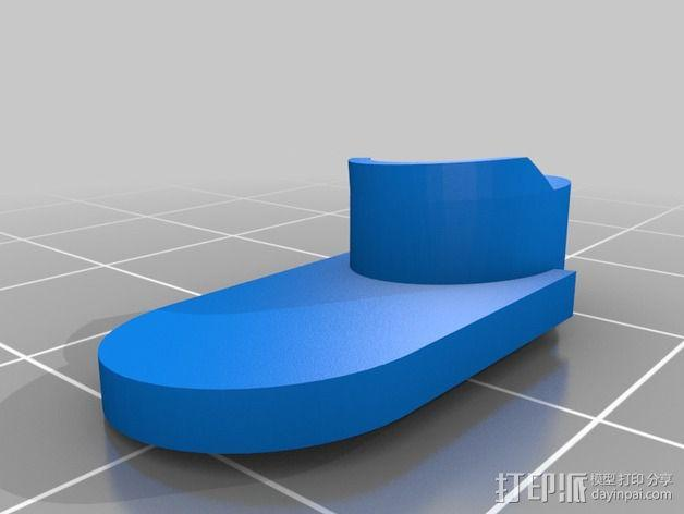 HTC ONE手机外壳 3D模型  图3