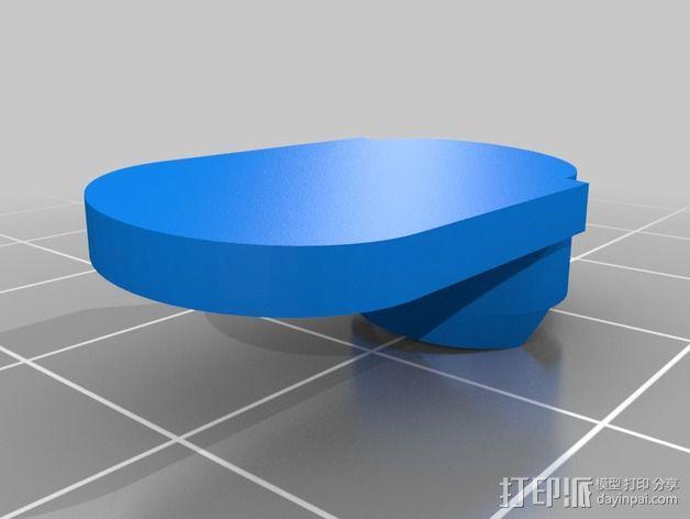 HTC ONE手机外壳 3D模型  图8