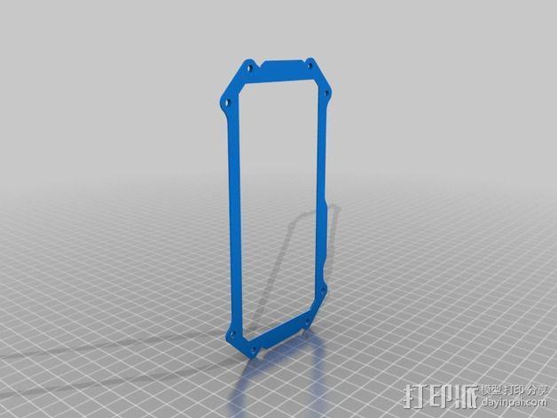HTC ONE手机外壳 3D模型  图10