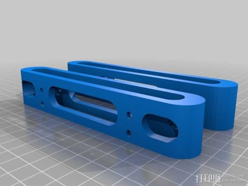 硬盘固定架 3D模型  图3