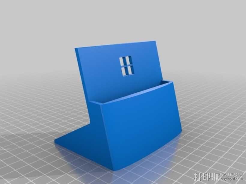Nokia 1520 手机支撑架 3D模型  图1