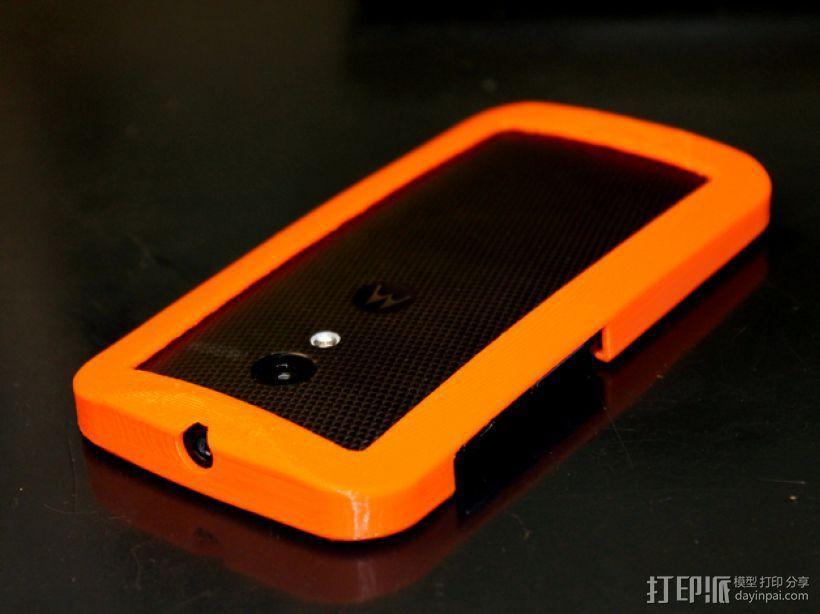 摩托罗拉Moto X手机边框保护壳 3D模型  图2