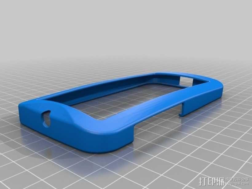摩托罗拉Moto X手机边框保护壳 3D模型  图1