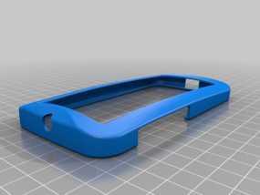 摩托罗拉Moto X手机边框保护壳 3D模型