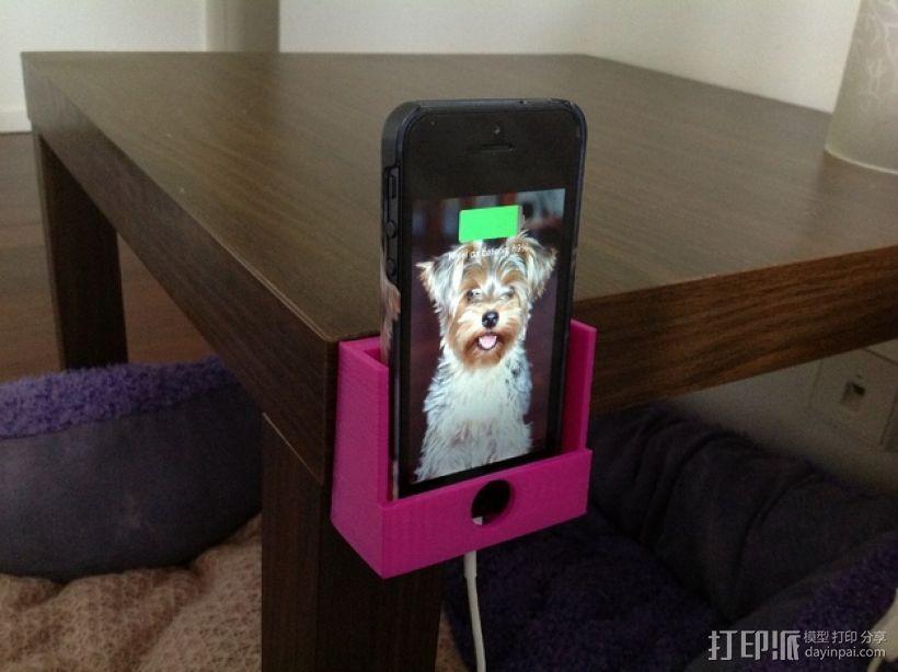 Iphone 5手机座 3D模型  图4