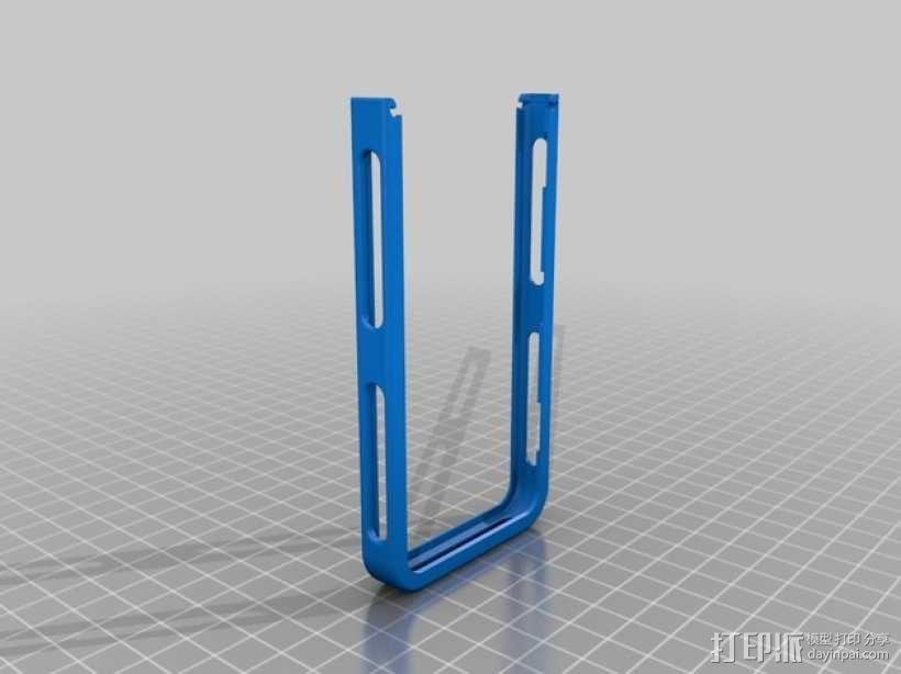 iPhone 5/5S手机边框保护壳 3D模型  图1