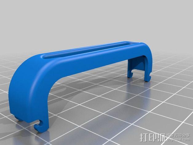 iPhone 5/5S手机边框保护壳 3D模型  图2