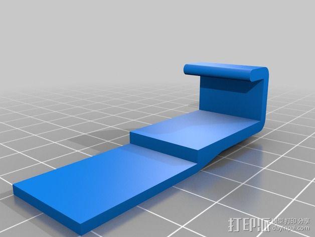 自行车载手机座 3D模型  图2