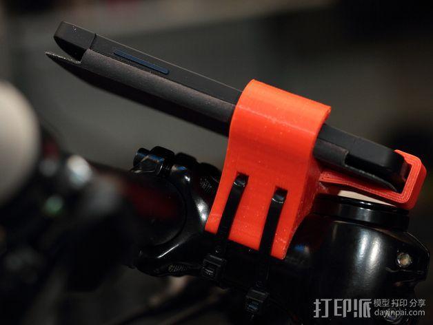 自行车载手机座 3D模型  图8