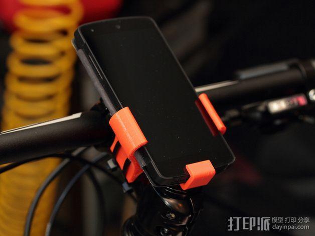 自行车载手机座 3D模型  图7