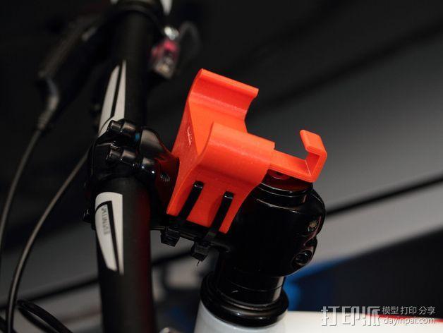 自行车载手机座 3D模型  图5