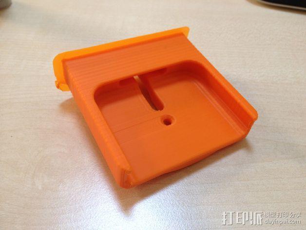 车载式iPhone 4/4s手机充电座 3D模型  图6