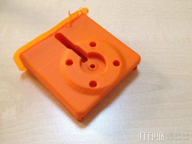 车载式iPhone 4/4s手机充电座 3D模型  图7