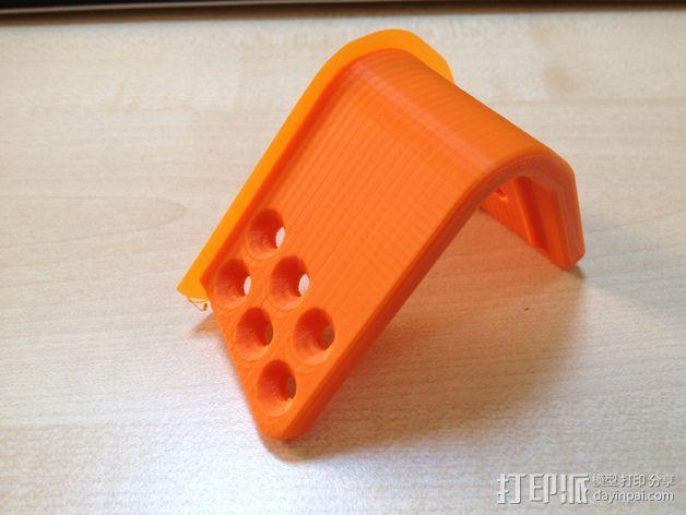 车载式iPhone 4/4s手机充电座 3D模型  图10