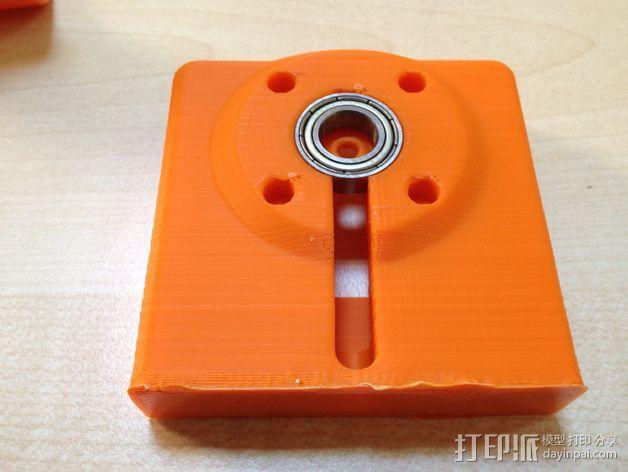 车载式iPhone 4/4s手机充电座 3D模型  图13