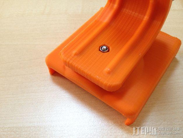 车载式iPhone 4/4s手机充电座 3D模型  图21
