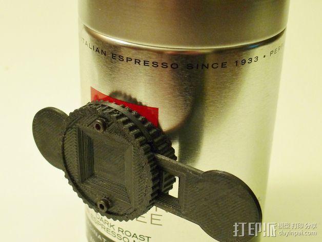 咖啡罐摄像机 3D模型  图3