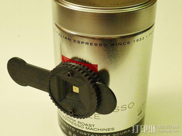 咖啡罐摄像机 3D模型  图2