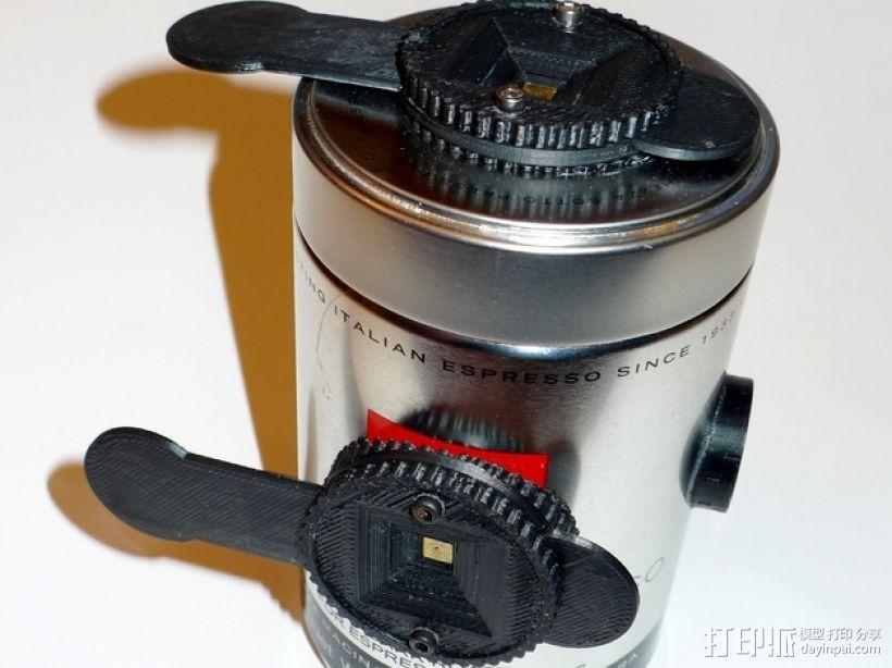 咖啡罐摄像机 3D模型  图1