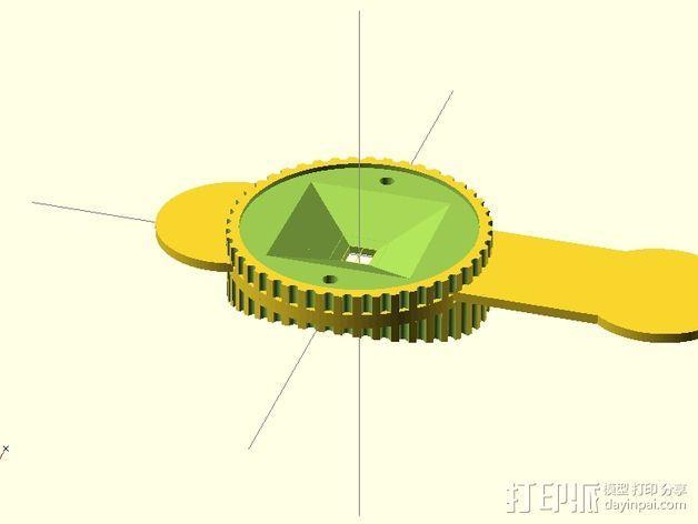 咖啡罐摄像机 3D模型  图11